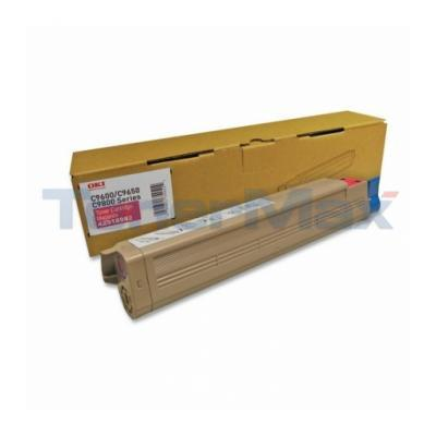OKIDATA C9650 SERIES C7 TONER CTG MAGENTA